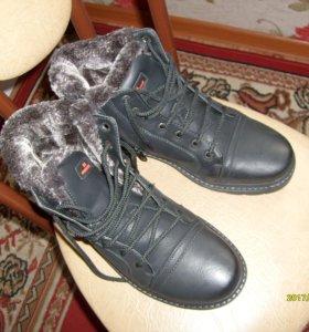 ботинки зима НОВ