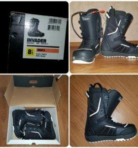 Сноубардические ботинки Burton, торг уместен
