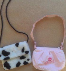 2 сумочки для девочки