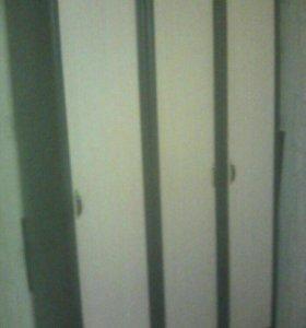 Плательный шкаф и колонка