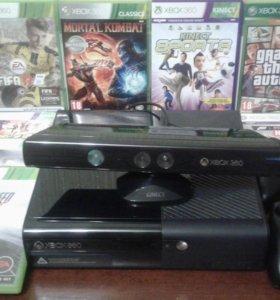 Игровая приставка XBOX 360 500Гб + KINECT + 8 ИГР
