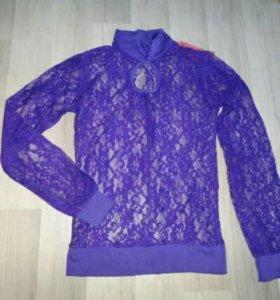 Блуза гепюр, новая