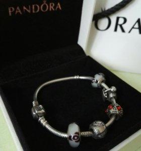 серебряный браслет Panbora