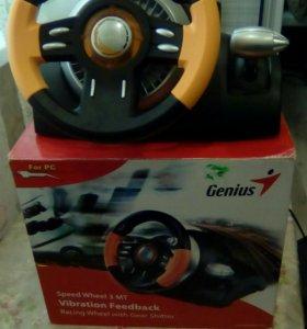 Руль Genius Speed Wheel 3