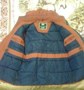 Куртка теплая пуховая