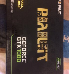 Видеокарта Palit GeForce GTX1080 8GB Dual OC