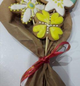 Букет имбирных цветов