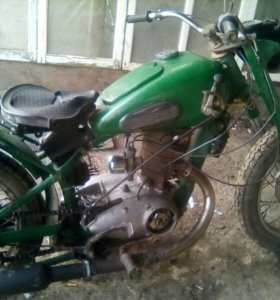 Мотоцикл иж49