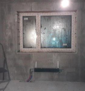 Выравнивание стен (Штукатурка)