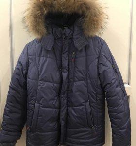 Куртка зимняя 158см