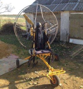 Паромотор с телегой