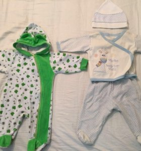Одежда малышу от 0-3 мес