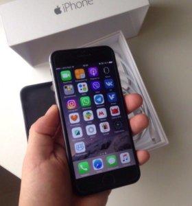 iPhone 6 16gb Space Grey без отпечатка