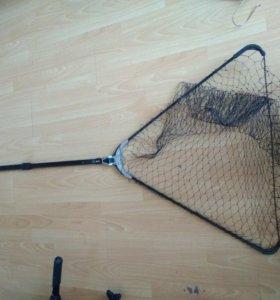 Подсачек grfish телескопический 1.9 м