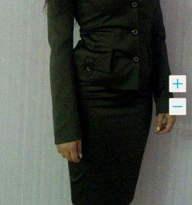 костюм -пиджак и юбка