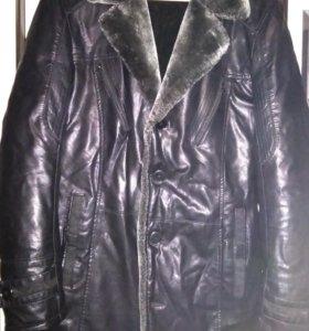куртка мужская эко кожа