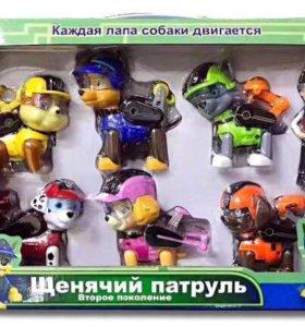 Набор 7 героев Щенячий патруль