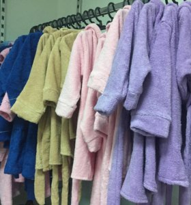 Халаты детские от 1 года до 16 лет