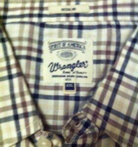 Рубашка мужская Wrangler оригинал р-XL