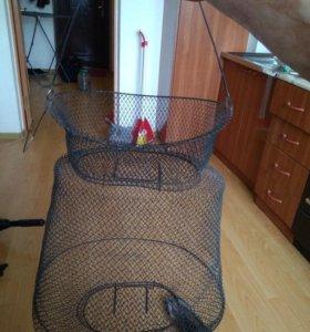 Садок рыболовный металлический