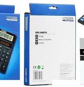 Калькуляторы Citizen SDC-888TII
