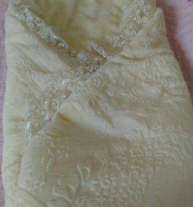 Одеялко для выписки