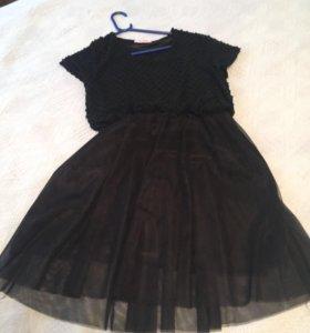Платье чёрное Darineya