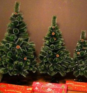 Искусственная елка + гирлянда в подарок