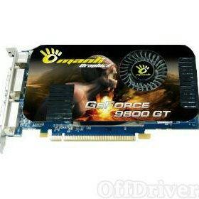 Видеокарта Nvidia 9800GT