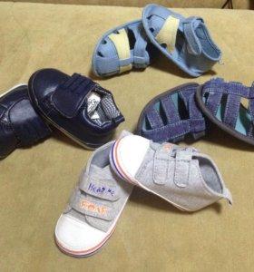 Детская обувь на 4-6 месяцев
