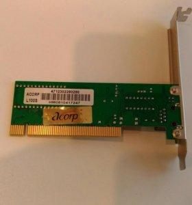 сетевой адаптер Acorp L-100S