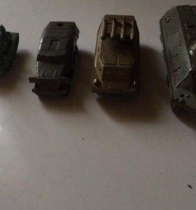 Модели бронетехники