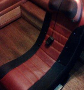 новое кресло качалка массажное