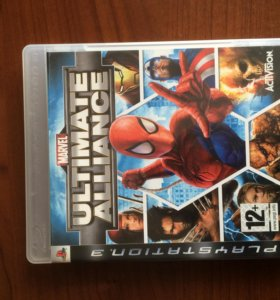 Игра Ultimate Alliance для PS3