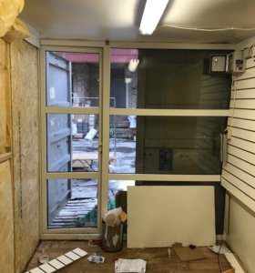 Пластиковая панель окно/ дверь