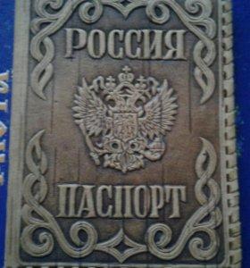 Обложка для паспорта (из дерева)