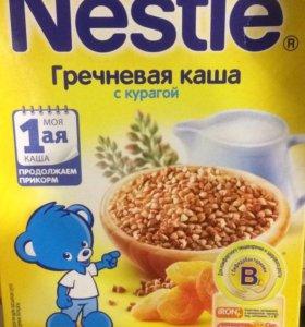 Молочные каши Nestle