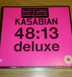 Kasabian 48 13 Deluxe CD DVD Live In Leicester
