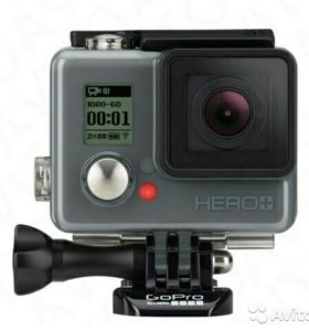 GoPro Камера+монопод-штатив+карта памяти