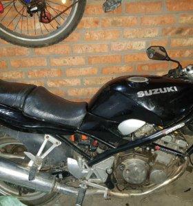 Коммутатор на Suzuki bandit 250-1
