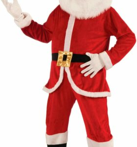 Ростовой костюм Санта Клаус