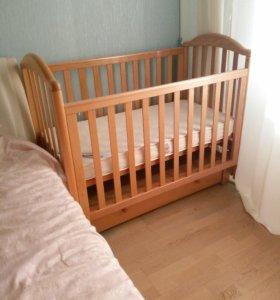 Кроватка детская Лель / Кубаньлесстрой