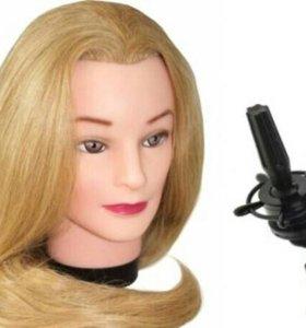 Манекен- головы с Натуральными волосами.