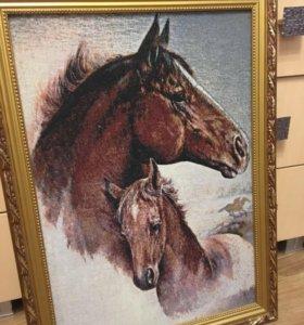 Картина «лошади»