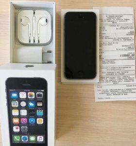 Айфон 5s ( состояние нового)