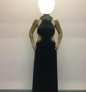 Черное платье секлярус