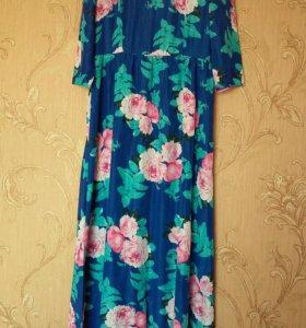 Платье в пол 44 размер