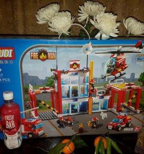 Lego пожарная часть
