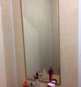 Тумба с зеркалом для прихожей