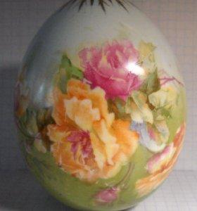 Яйцо пасхальное, фарфор